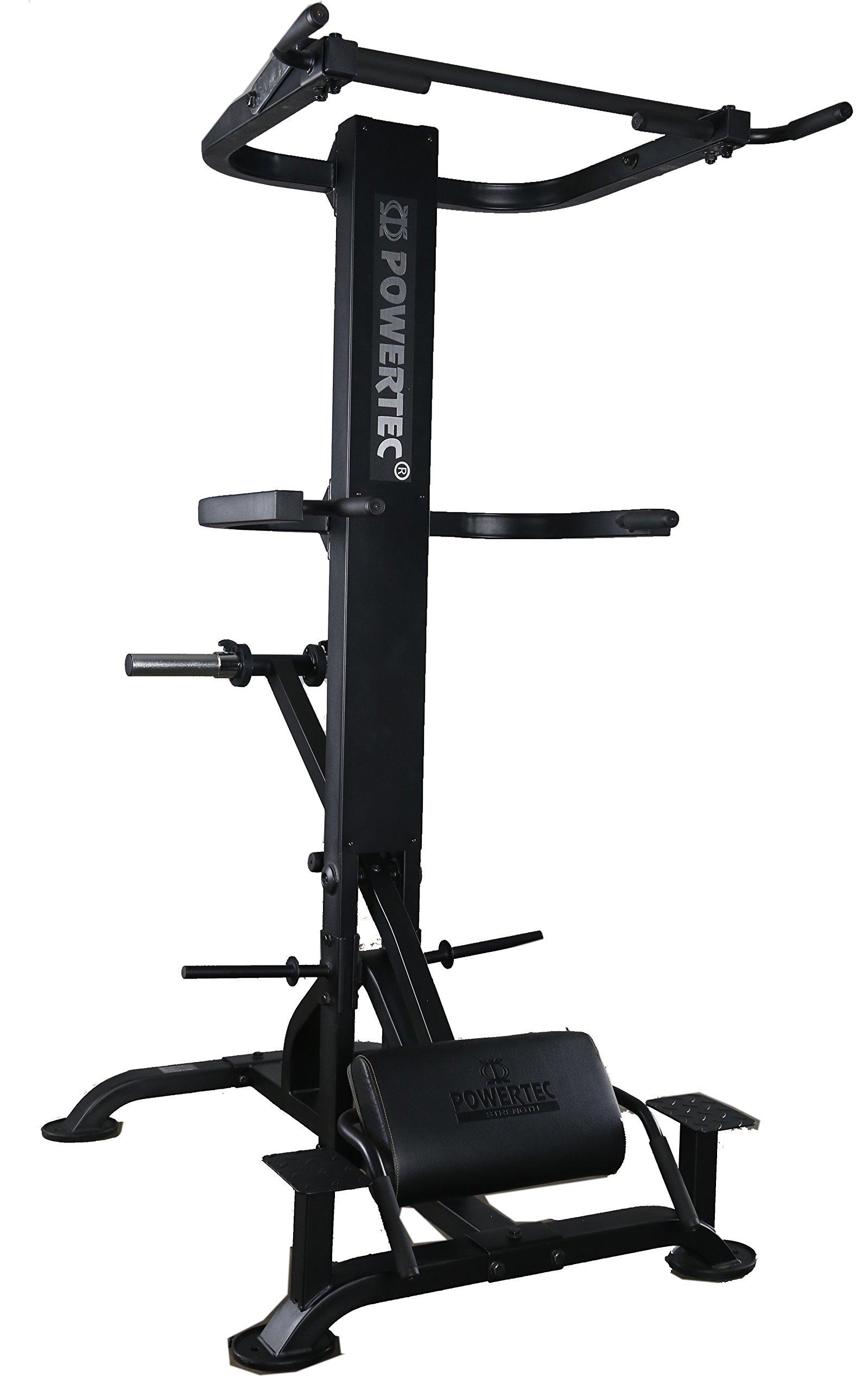 Powertec Fitness Levergym Chin/Dip Assist - Plus Black