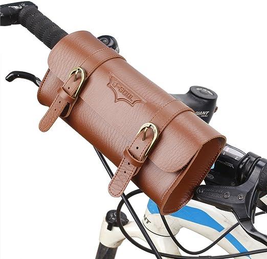 Bolsa de Bicicleta El bolso de cuero de la bici / el bolso del ...