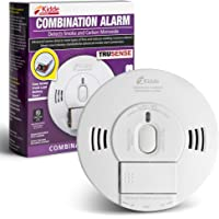 Kidde 21028499 DC Smoke and Carbon Monoxide Alarm Detector with TruSense Technology   Front Load Battery   Voice Notification   Model 2070-VDSCR, White