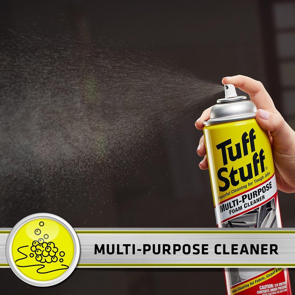 amazon com tuff stuff multi purpose foam cleaner for deep amazon com tuff stuff multi purpose foam cleaner for deep cleaning 22 oz 1 37 lbs home improvement