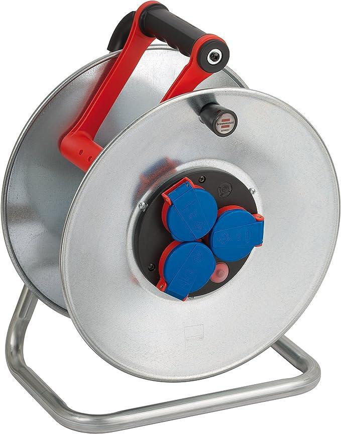 Brennenstuhl Steckdoseneinsatz-Montageplatte Thermostat mit Kontroll-Leuchte