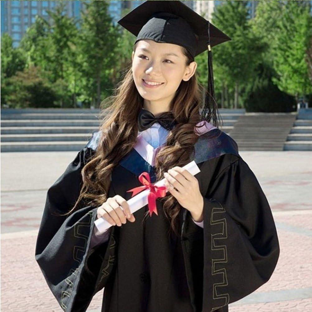 TENDYCOCO Graduados Adultos de graduaci/ón con borlas para la Fiesta de graduaci/ón