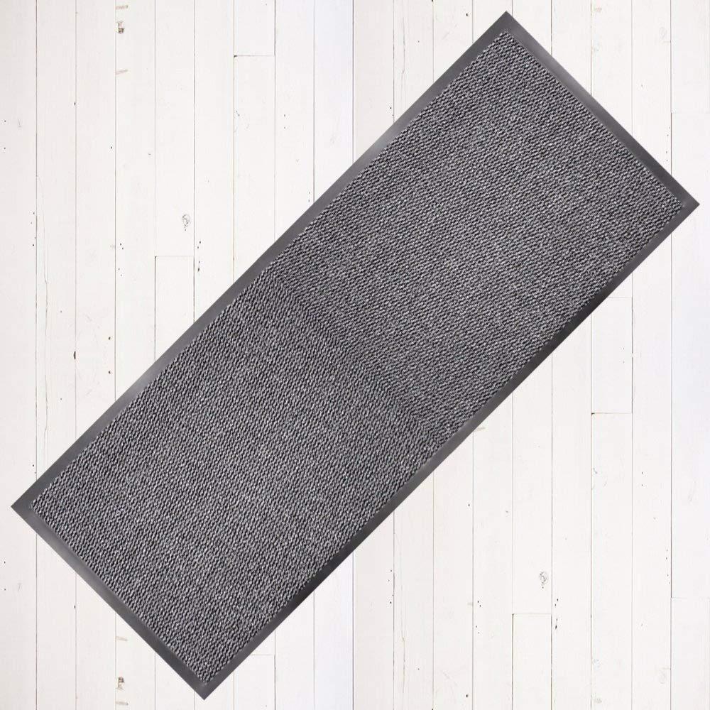 Dirt Stopper Carpet Runner 60cm x 160cm Grey/Black.With Non-Slip Back RRP £29.99 TrendMakers Others