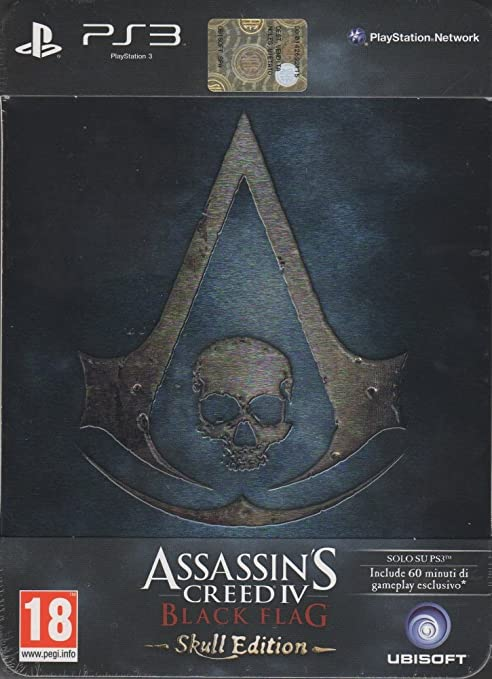 86 opinioni per Assassin's Creed IV: Black Flag- Skull Edition (Collector's Edition)