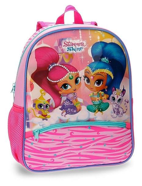 Shimmer and Shine Pets Mochila Infantil, 33 cm, 9.8 litros, Rosa