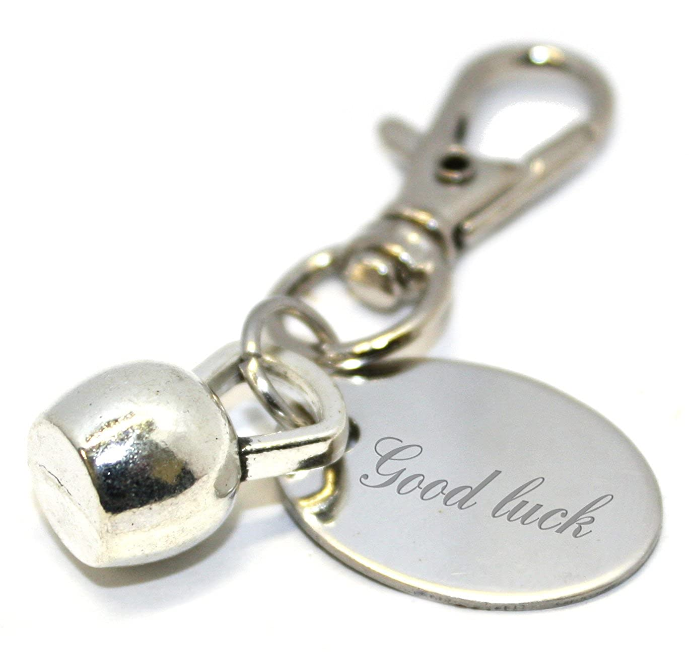 Amazon.com: Llavero con diseño de campana de la buena suerte ...