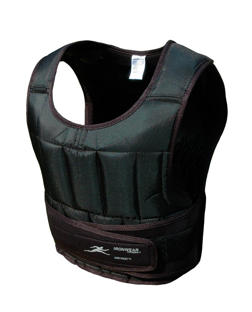 20 Lb Uni-vest™ (Short) Professional Weighted Vest by Ironwear