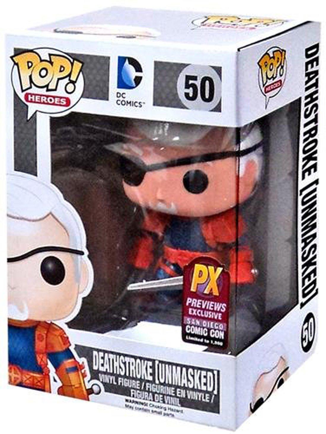 Funko - DC Comics - Deathstroke Unmasked Pop - 10 cm - 0849803043605 B00MEXU8HQ