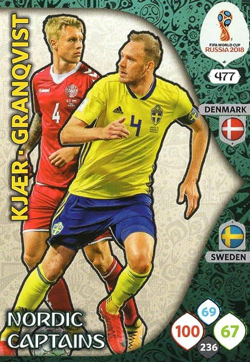 ADRENALYN XL FIFA World Cup 2018 Nordic Captains Trading Card - Edición NORDICA: Amazon.es: Deportes y aire libre