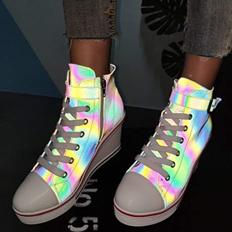 cb4f3d4f51fee Amazon.com: Mysky Fashion Women Popular Illuminate Cool Buckle ...