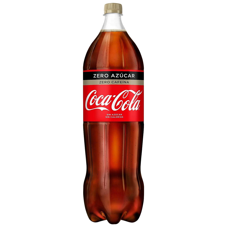 Coca-Cola - Zero Zero, Refresco con gas de cola, 2 l (Pack de 6 ...