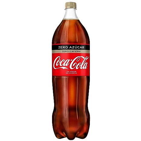 Coca Cola Zero Zero refresco sin Cafeína sin azúcar - 2 l