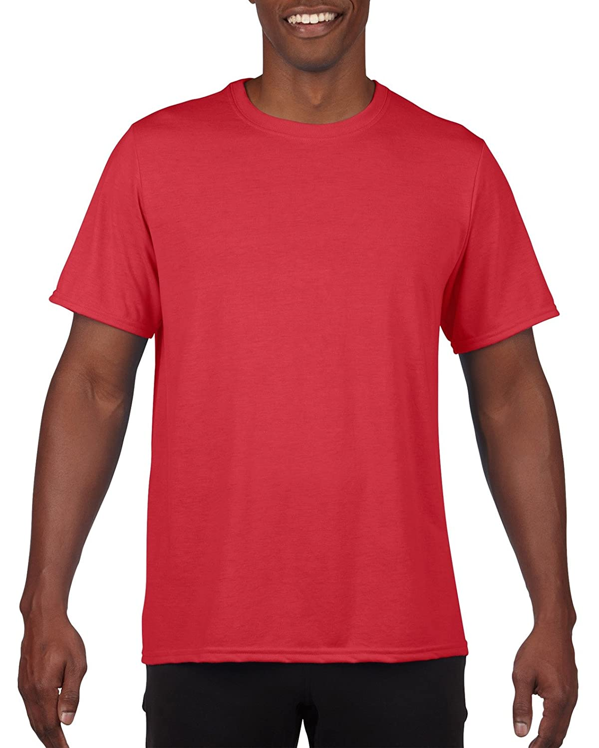 Gildan Men's 100% Polyester Moisture Wicking Performance T-Shirt Gildan Men's Activewear G42000