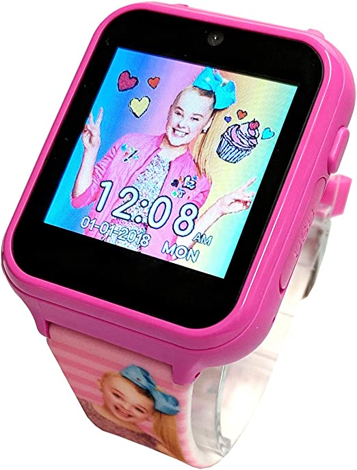 Amazon.com: Jojo Siwa Interactive Smart Watch with Touch Screen Game Camera  Fun Wrist Watch: Watches