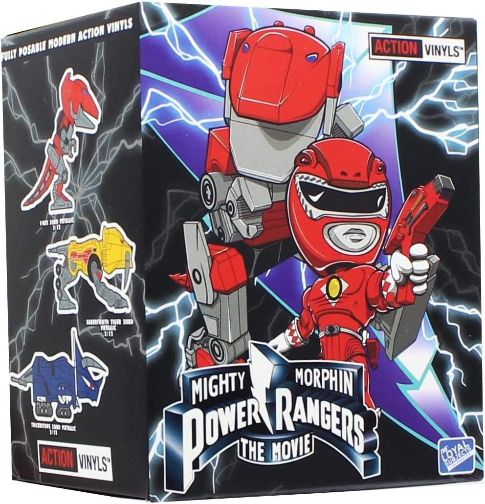 Mighty Morphin Power Rangers Action Vinyl/'s by Loyal Subjects Blind Box new