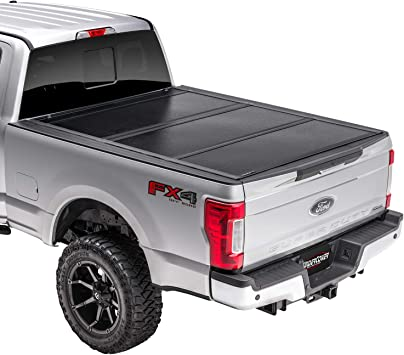 Amazon Com Undercover Flex Hard Folding Truck Bed Tonneau Cover Fx21021 Fits 17 20 Ford F 250 F 350 6 9 Bed Automotive