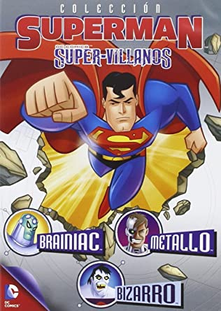 Superman Coleccion Super Villanos Amazon Fr Dessin Animé Varios