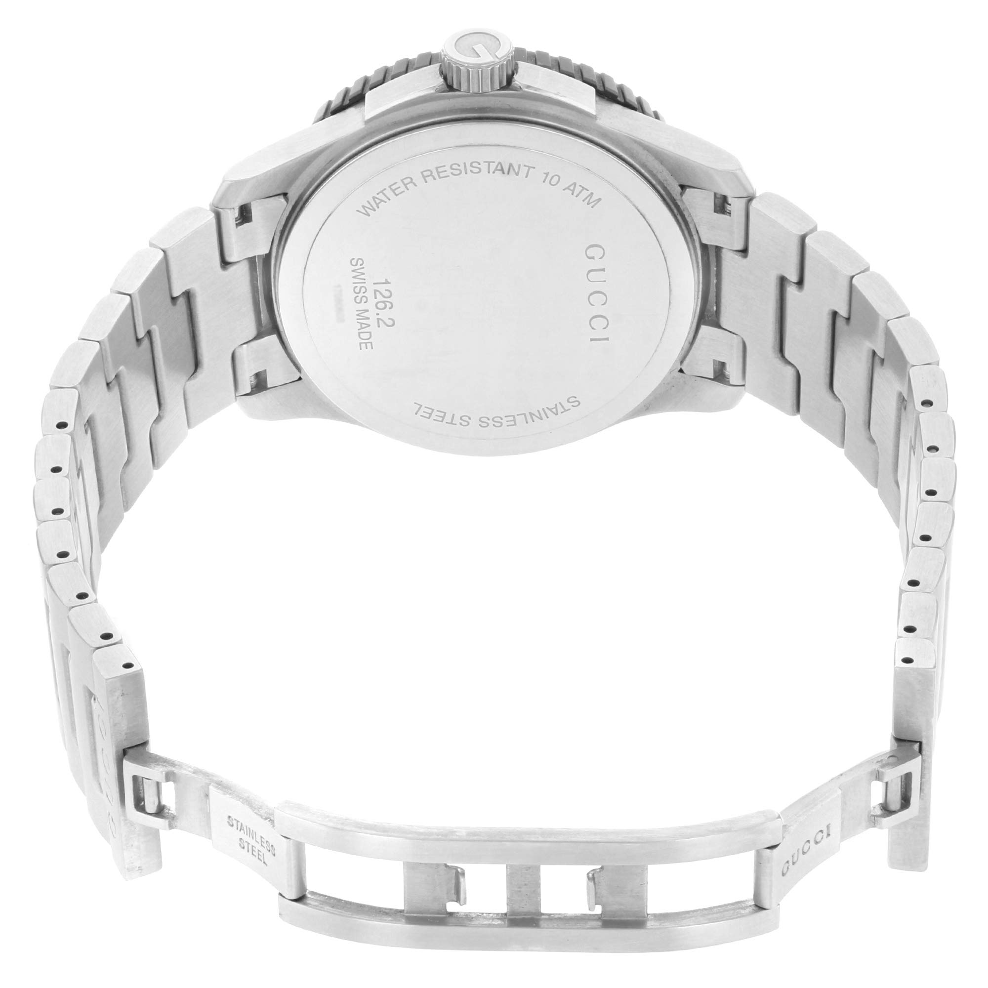 467a552b55b Gucci G-Sport 126 XL YA126250 Stainless Steel Beige Dial Quartz Men s Watch