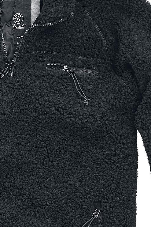 Brandit Men Pullover Teddyfleece