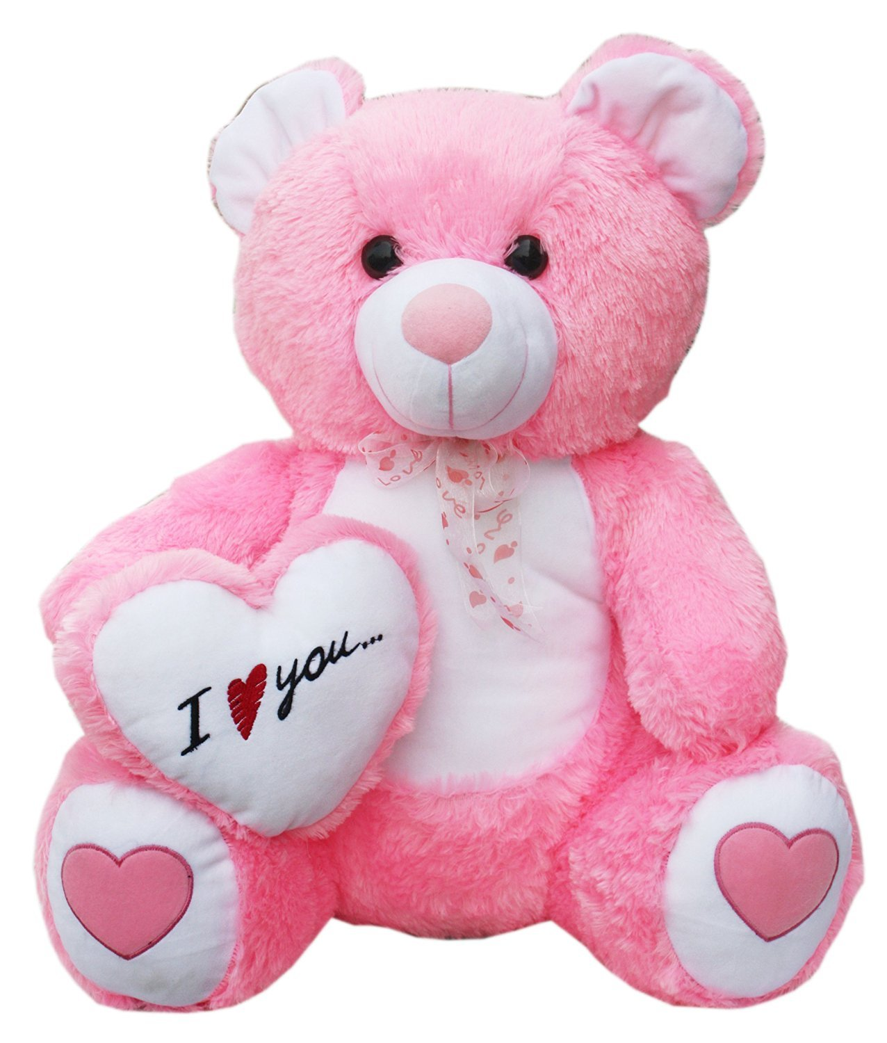 Buy Iblay Beautiful Pink Love Heart Teddy Bear 60 Cm Online At Low