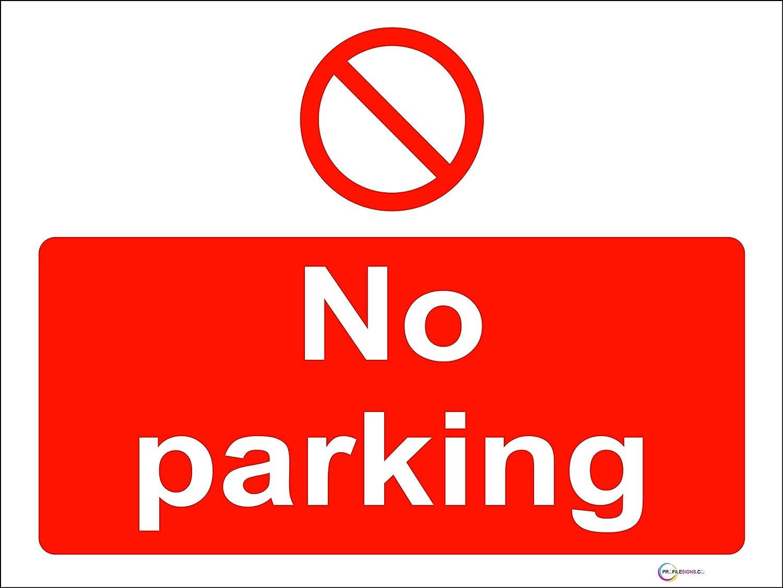 Rigid Pvc No Parking Landscape