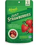 Karen's Naturals, Just Strawberries 1.5 Ounce Pouch (Packaging May Vary)