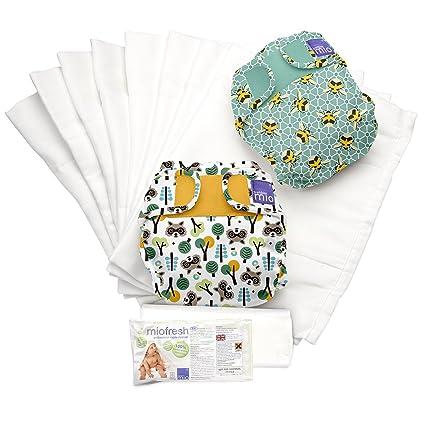 Bambino Mio, miosoft set de pañales de tela, mixed, talla 1 (<