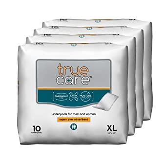 Amazon Com True Care Super Absorbent Incontinence Underpads