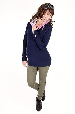 Milchshake - Sudadera con capucha - para mujer azul marino medium: Amazon.es: Ropa y accesorios