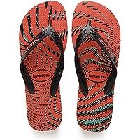 HAVAIANAS Erkek AERO GRAPHIC Moda Ayakkabılar, Kırmızı, 41-42
