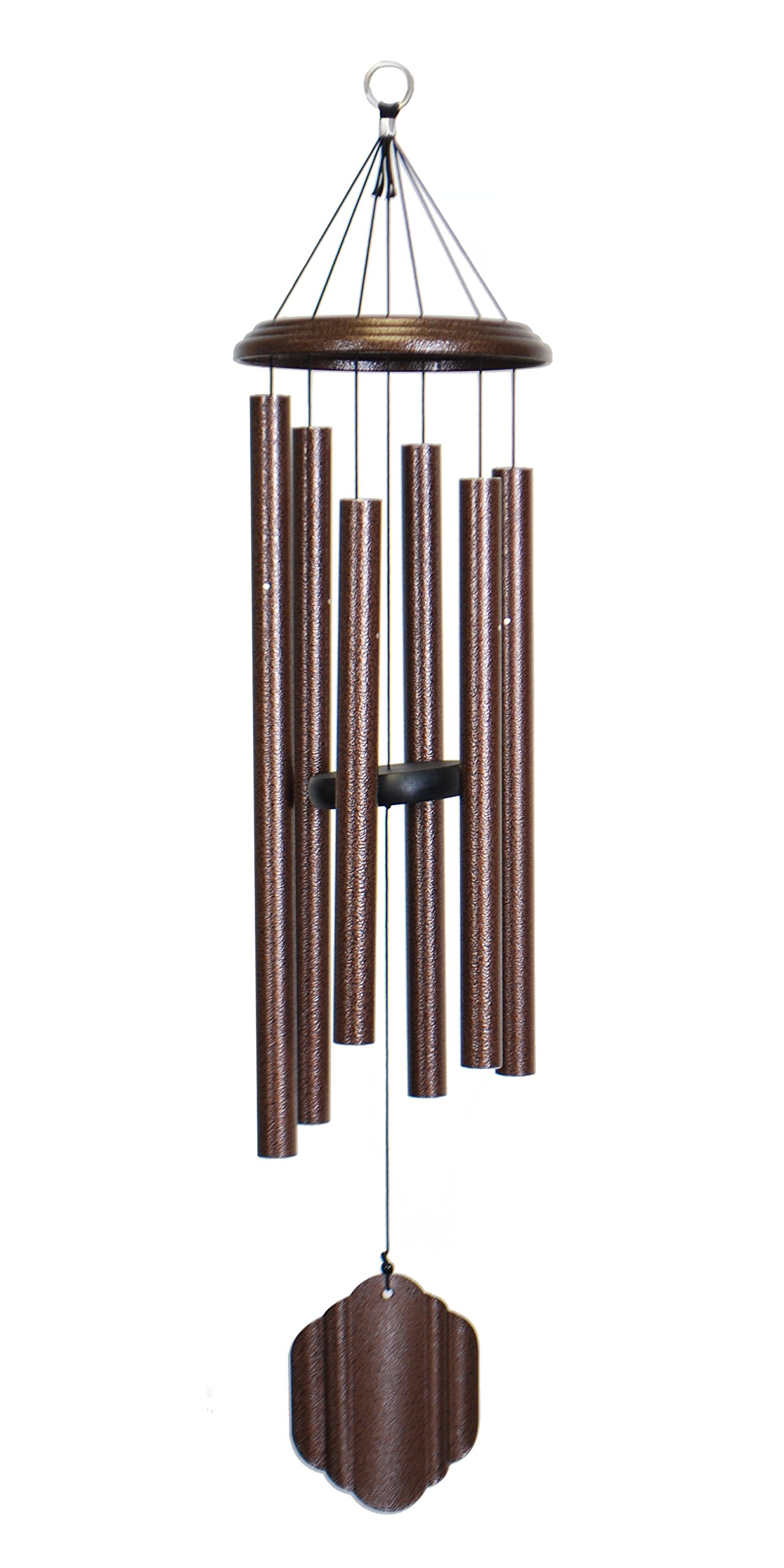 Bells of Vienna 36-inch Windchime, Copper Vein