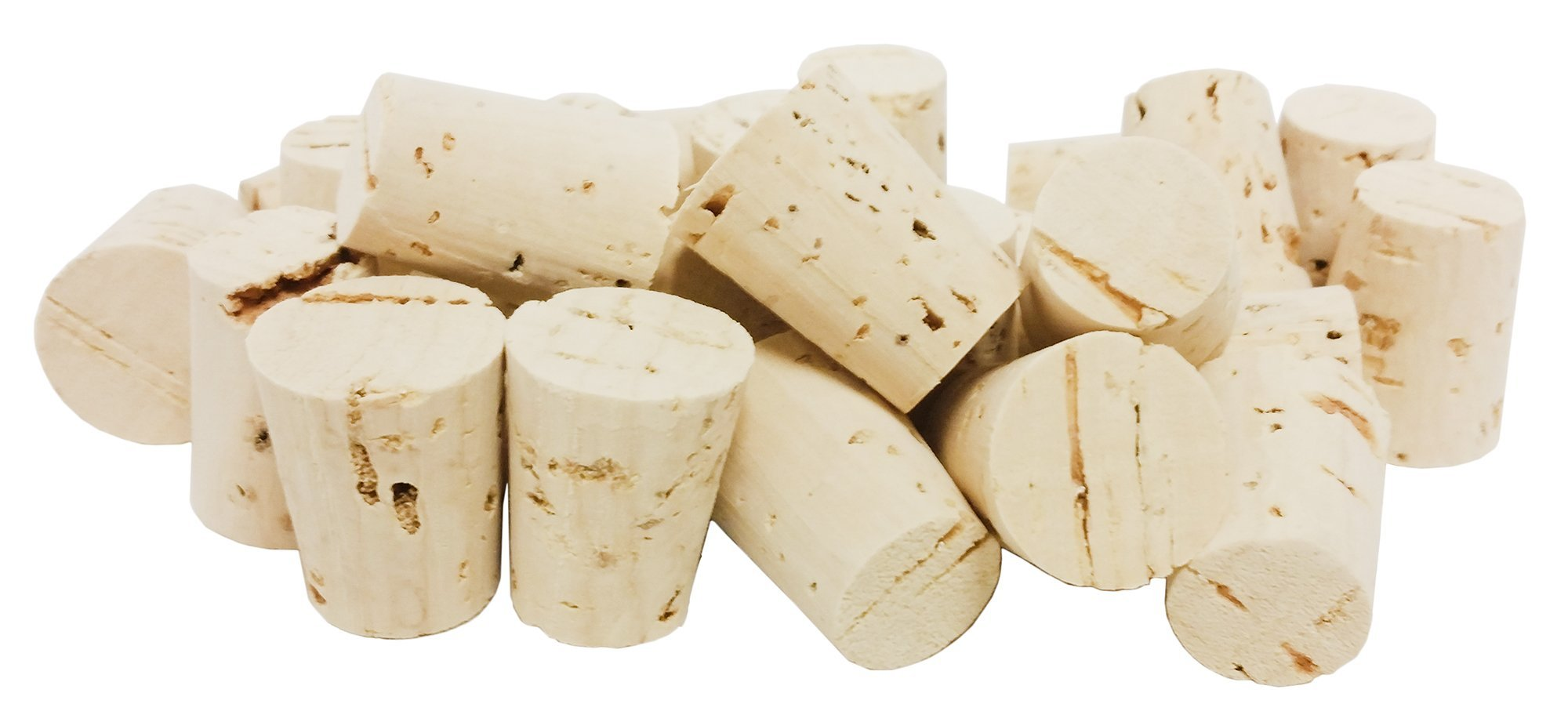 GSC International Cork Stoppers Pack of 100 - Size 6 by GSC International