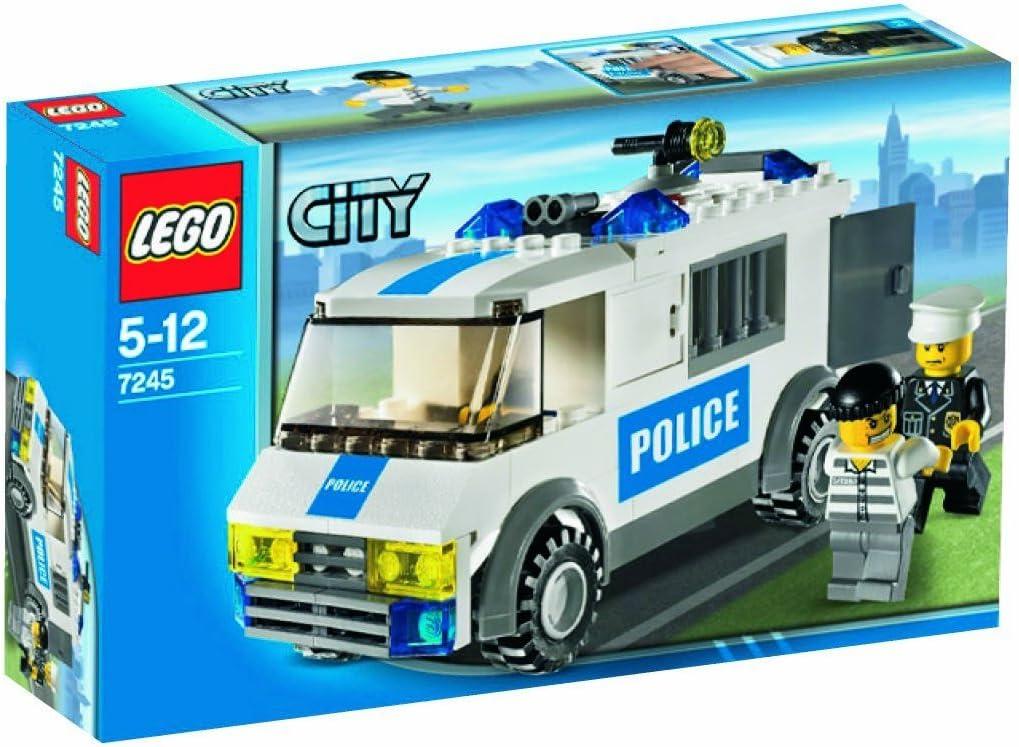 LEGO City 7245 - Transporte de prisioneros: Amazon.es: Juguetes y juegos