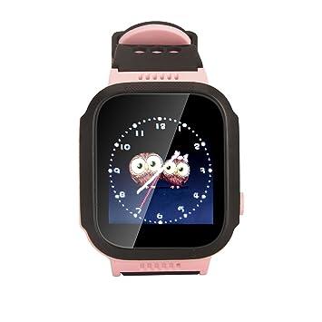 TKSTAR Reloj para Niños,Reloj Infantil Pulsera Inteligente Reloj GPS localizador led pantalla Smartwatch Compatible