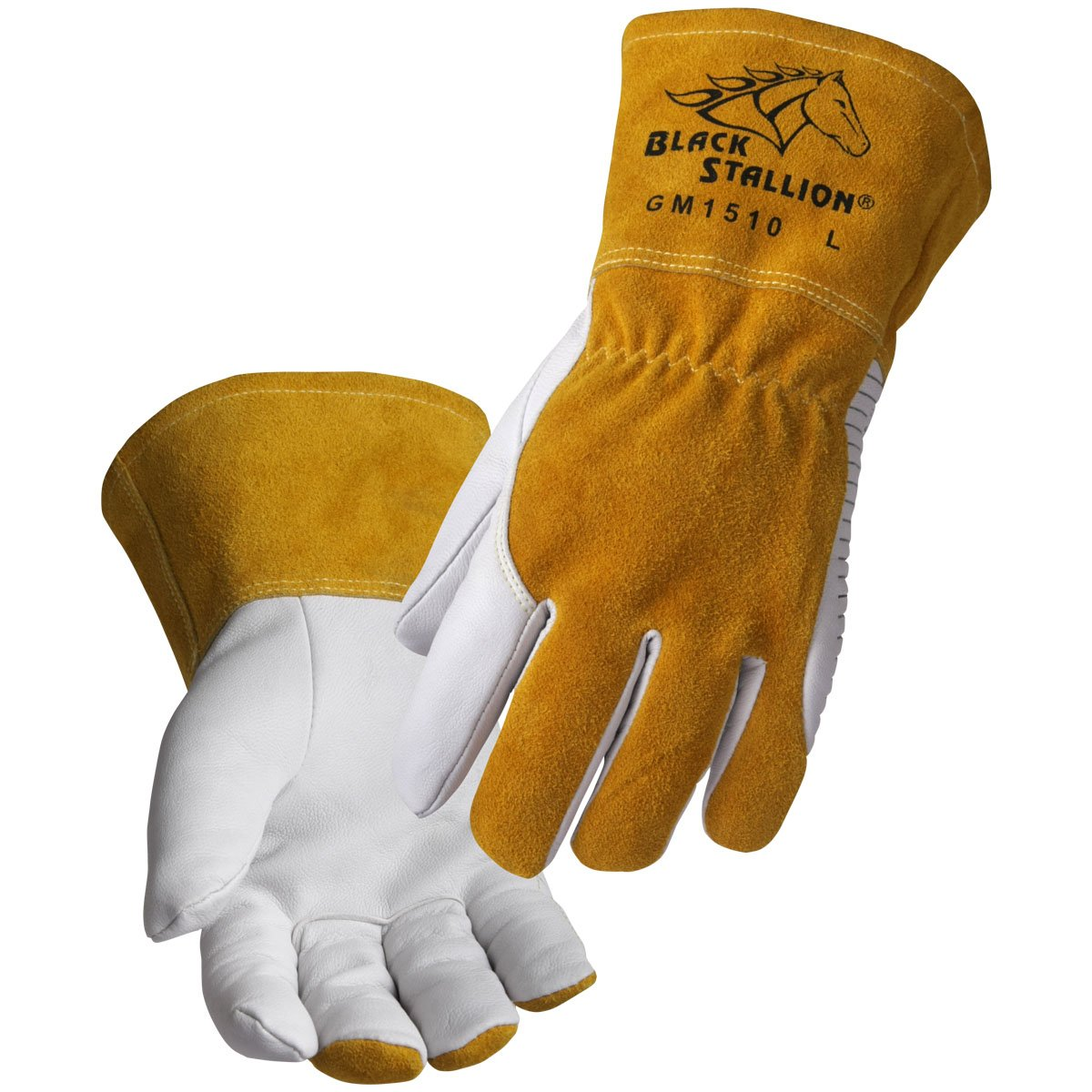 Revco BSX Black Stallion Comfortable & High-Dexterity MIG/TIG Welding Glove (Small)