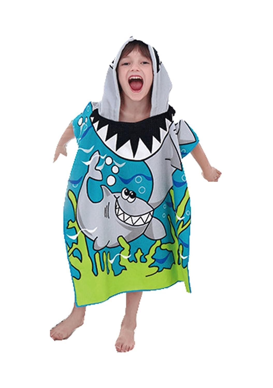 Grande squalo bianco Unisex Asciugamano da Bagno Spiaggia Piscina, Per bambini di 6-13 anni da Himom Kutto