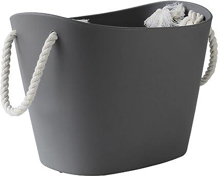 Hachiman Panier de rangement Balcolore 19 litres noir