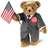 Vermont Teddy Bear Donald Trump – President Trump Bear, Political Teddy Bear, 15 inch