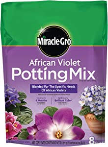 Miracle-Gro African Violet Potting Mix, 8 qt.