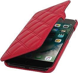 StilGut Book Type avec Clip, Housse iPhone 8 & iPhone 7 en Cuir. Etui de Protection à Ouverture latérale pour iPhone 8 & iPhone 7 (4.7 Pouces)