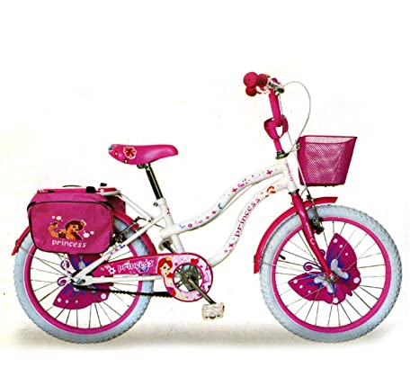 Mediawave Store Bicicletta Bambina Misura 20 Princess Rs2011 Telaio