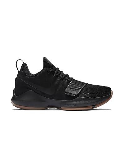 3deda38c420737 ... get nike mens paul george pg1 basketball shoes black anthracite gum  light brown black f58a6 fbf70
