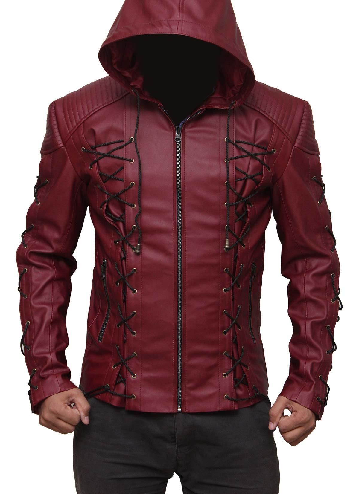 Arrow Red outerwear Jacket Gift Ideas M