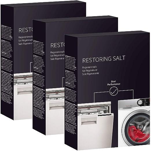 Spares2go - Sal restauradora para lavavajillas y lavadora (3 ...