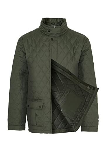 c320fc609531 Champion Men s Padstow Diamond Quilted Coat Jacket  Amazon.co.uk ...