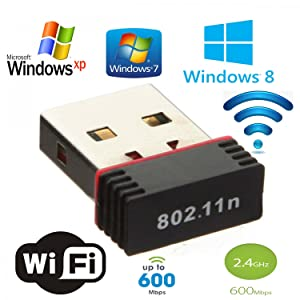 Generic WiFi Adapter 600 Mbps WiFi Receiver Mini USB Adapter...