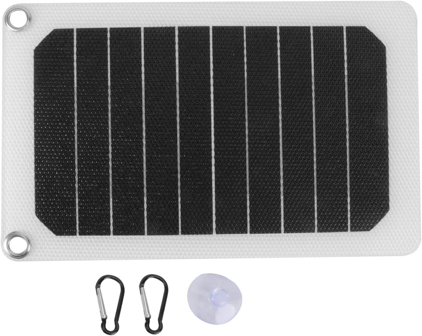 YARNOW 휴대용 태양 전지 패널 여름 캠핑을위한 접이식 태양 전지 충전기 패널