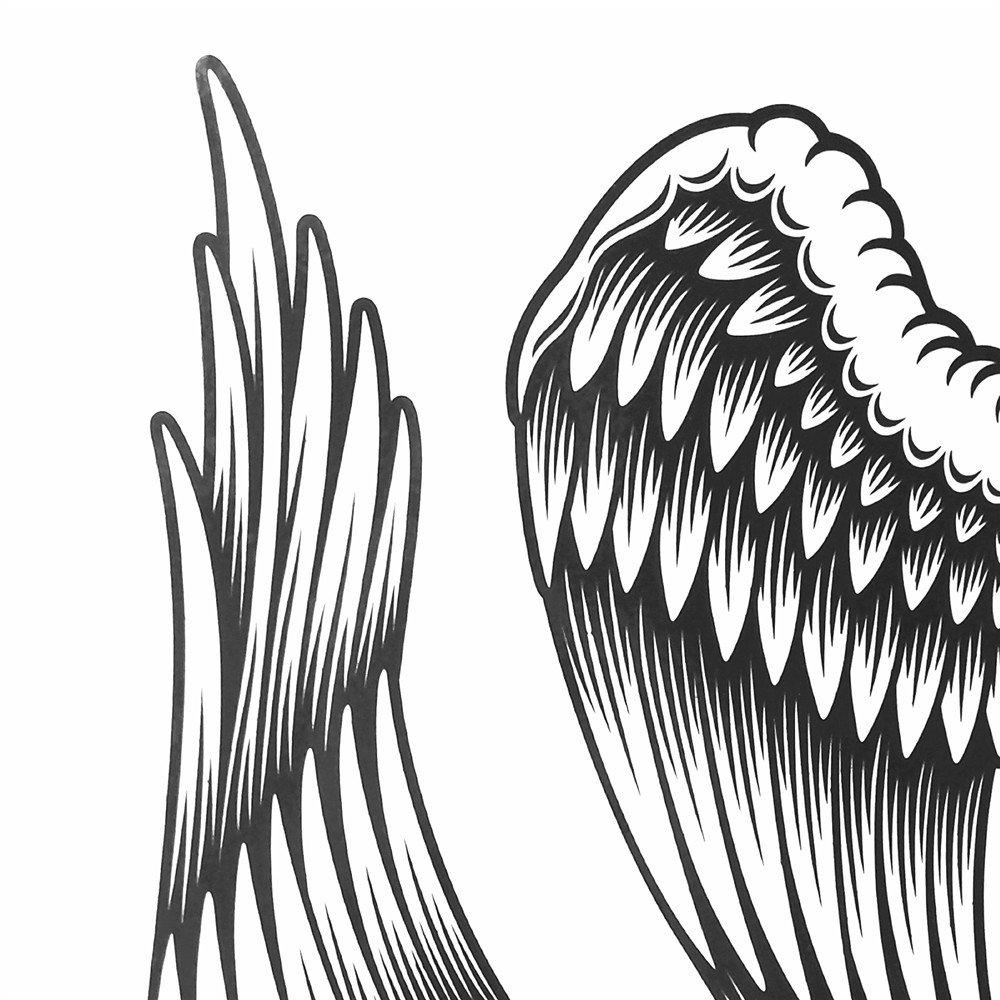 LZC el ángel caído ángel temporal adulto color para el hombro para ...