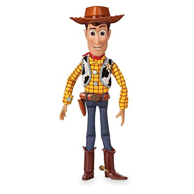 Disney Collection Toy Story 4 Woody Talking Action Figure: Toys & Games