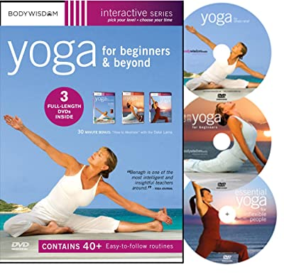 Yoga for Beginners: Boxed Set (Yoga for Stress Relief / AM-PM Yoga for Beginners / Essential Yoga for Inflexible People)
